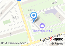 Компания «Техуборка» на карте