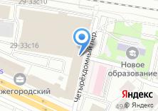 Компания «ГорСтройПроект» на карте