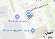 Компания «Московский аналитический центр в сфере городского хозяйства» на карте