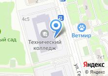 Компания «Московский технический колледж» на карте