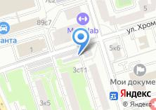 Компания «Автостоянка на Большой Черкизовской» на карте