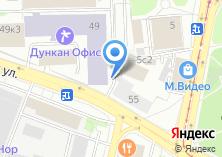 Компания «Шиномонтажная мастерская на Большой Семёновской» на карте