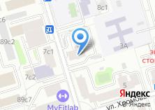 Компания «Малая Черкизовская» на карте