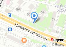 Компания «Магазин фруктов и овощей на Нижегородской» на карте