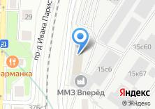 Компания «Машоптторг» на карте