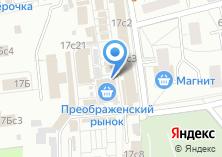 Компания «Я-пончик» на карте