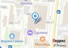 Компания «Хостел» на карте