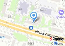 Компания «Kreonix» на карте