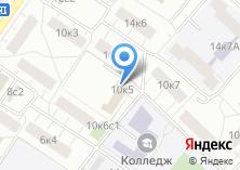 Компания «Сокольники» на карте