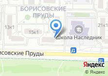Компания «Борисовские пруды 17-1» на карте