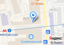 Компания «Медконти» на карте
