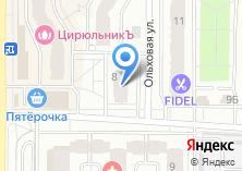 Компания «ANZA» на карте