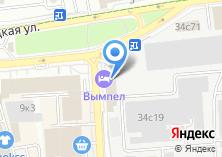 Компания «Детово» на карте