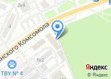 Компания «Эллин» на карте