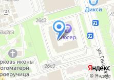 Компания «Лидер печати» на карте
