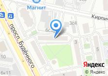 Компания «Бодрость» на карте