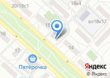 Компания «Кора сеть магазинов косметики» на карте