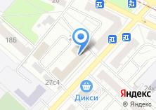 Компания «Динотек» на карте