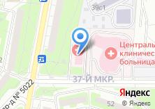 Компания «Городская поликлиника №72» на карте