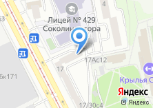 Компания «Турстандарт» на карте