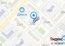 Компания «Бойцовая 22-6» на карте