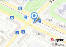 Компания «Град М» на карте