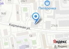 Компания «Автостоянка на Кирпичной» на карте