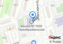 Компания «Гимназия №1505» на карте
