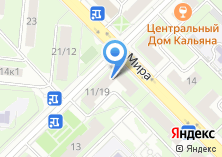 Компания «Московская межтерриториальная коллегия адвокатов» на карте
