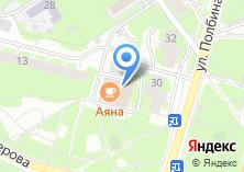 Компания «Аяна» на карте