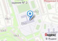 Компания «Средняя общеобразовательная школа №581» на карте