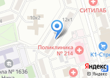 Компания «Инженерная служба района Орехово-Борисово Южное» на карте