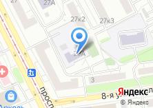 Компания «Детский сад №1176» на карте