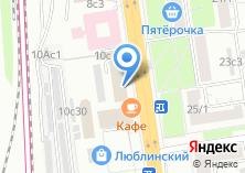 Компания «Парикмахерская эконом-класса на Люблинской» на карте