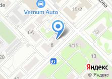 Компания «Мэм» на карте