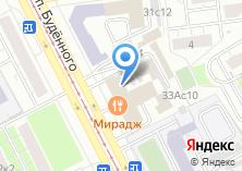 Компания «Мирадж» на карте