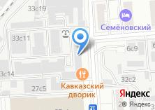 Компания «Кавказский дворик» на карте