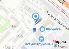 Компания «Автостоянка на Подбельского 6-м проезде» на карте