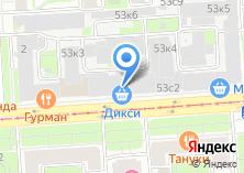 Компания «Территория» на карте
