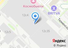 Компания «Технопарк» на карте
