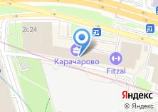Компания «RUglass» на карте