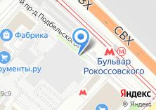 Компания «Свит хом» на карте