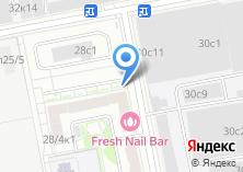 Компания «X motors» на карте
