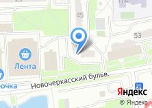 Компания «Дом быта на Новочеркасском бульваре» на карте