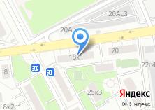 Компания «БелОкна» на карте