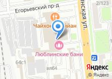 Компания «Сhevrolet» на карте