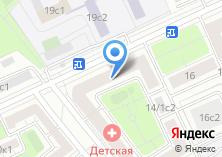 Компания «Детская поликлиника №135» на карте