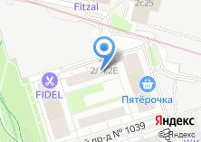 Компания «SREDA» на карте
