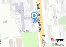 Компания «Московский колледж профессиональных технологий» на карте