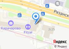 Компания «Одон» на карте
